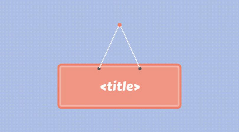 بهینه سازی عنوان صفحه برای سئو